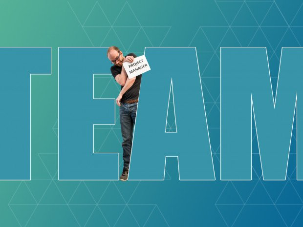 "There's no ""I"" in team... but there is a project manager"