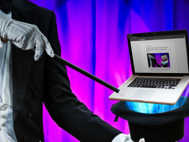 Images for your website. How to make your website sparkle with some digital magic. Part 1.